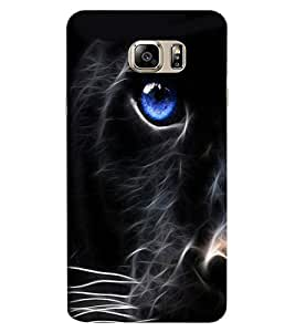ColourCraft Cat Look Design Back Case Cover for SAMSUNG GALAXY NOTE 7