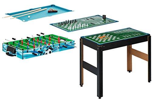 Playland® 14-in1 Multifunktions Spieltisch Multigame Dame Billard Tischtennis