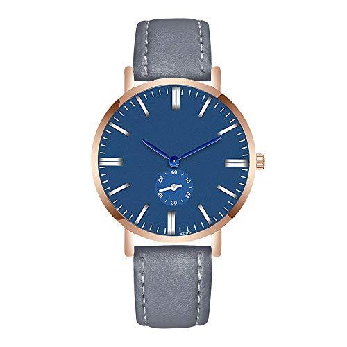 Uhren Herren Klassisch Uhr Analoge Quarz Armbanduhr der Art und Weisemann Armband Stahl Luxuriös Business Uhr Armbanduhren Exquisit Uhr,YpingLonk