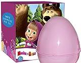 La Pasqua diventa divertente con l'uovo con sorprese di Masha e Orso! Ricco di sorprese per bambine e bambini. All'interno dell'uovo rosa trovi sempre giochi e giocattoli ufficiali di Masha e Orso: un peluche, una bambolina, costruzioni, gioc...