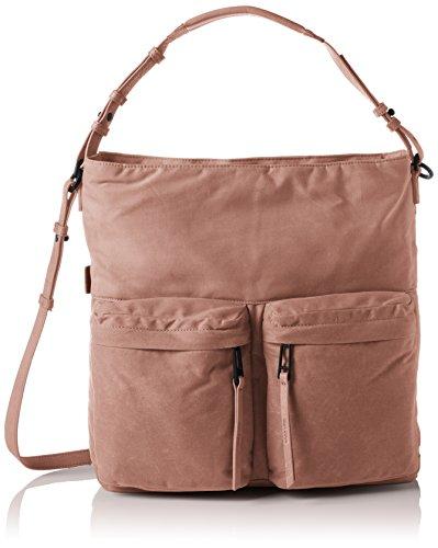 Marc O'Polo Damen Hobo Bag Schultertasche, 18 x 55 x 55 cm Rot (Rose)