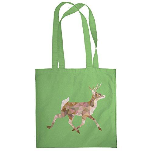Texlab–Poly Deer–sacchetto di stoffa Verde chiaro