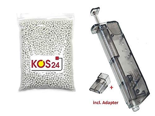 r Bio BBS 0.25g Premium BB Kugeln 6mm Airsoft inklusive Speedloader ()