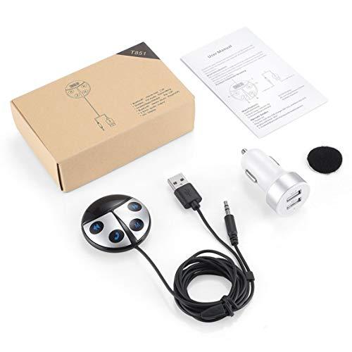 Schöne Marienkäfer-Form-Drahtloser Bluetooth-Übermittler-Empfänger Bluetooth Car Kit-freihändiger FM-Modulator mit -