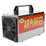 KKmoon 220V 20g Generador de Ozono con Función de Temporización,Ozonizador con Interruptor de Tiempo,Purificador de Aire,Esterilizador