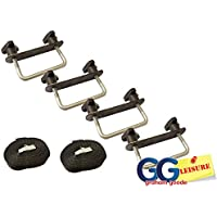 Thule Karrite Mont Blanc Roof Box U Clamps 80mm Wide Fitting Kit