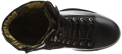 Fly London Leal689fly, Stivaletti Donna Nero (Black/black 000)