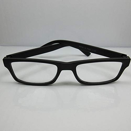 Fitsch Online UG Lesebrille für SIE & IHN +2,0 Lesehilfe Sehhilfe Lesehilfe Fertigbrille schwarz