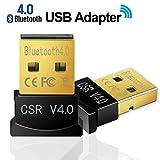 Rts USB Adapter 4.0 USB Bluetooth Dongle Wireless for Keyboard, Headset, PCs Compatible