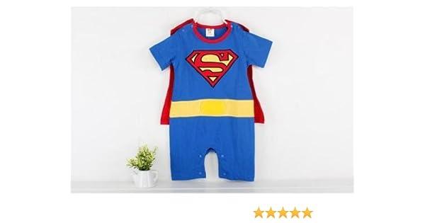 90d668bdf Baby Boy Girl Infant Superman Superhero Rompers Bodysuit Onesie ...