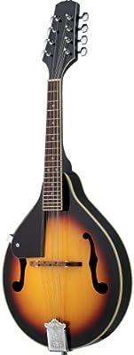 Rocket Music MAB01LH - Mandolina (para zurdos, tipo bluegrass)