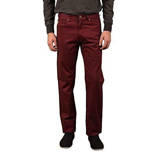 LOIS -  Pantaloni  - Uomo Granate/Rosso