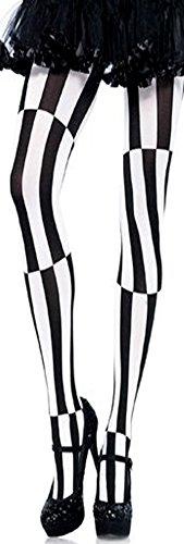 Sexy Damen Kostüm Harlekin Strumpfhose Fastnacht Karneval Halloween Hexennacht Kostüm Strümpfe Damen Frauen TOP Sexy Hose Leggins...
