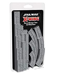 Asmodee Italia - Star Wars X-Wing Instrumentos Movim. y Regla Gittata Deluxe expansión Juego de Mesa con espléndidas miniaturas, Color, 9969