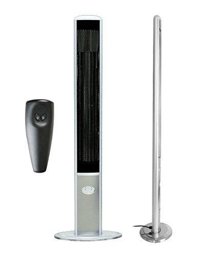 1.800 Watt Firefly™ Infrarot-Heizstrahler (Halogen) Terrassenheizung, freistehend, 2 Leistungsstufen, inkl. Fernbedienung