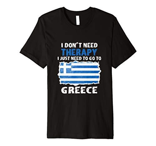 Griechenland T-Shirt Geschenk Für Griechen