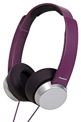 Panasonic RP-HXD3WE-V Headphone with Mic (Violet)