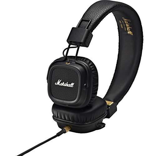 Marshall major ii padiglione auricolare stereofonico cablato nero auricolare per telefono cellulare major ii, cablato, padiglione auricolare, stereofonico, sovraurale, 10-20000 hz, nero