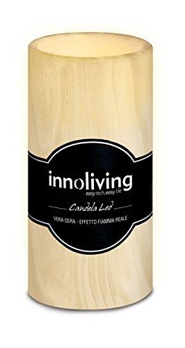 innoliving Inn velas decoración LED, color crema