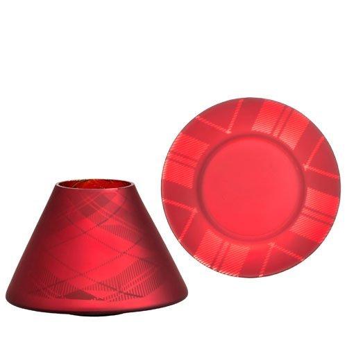 s-t-1521357-tartan-flicker-lrg-crackle-glass-set-red-18-x-18-x-10-cm