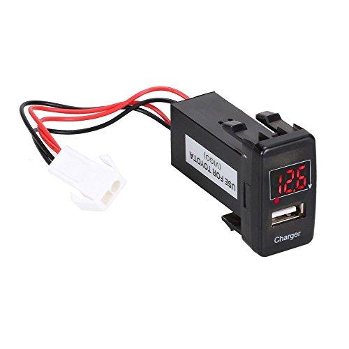 foxpic-digital-usb-cargador-de-coche-con-un-solo-puerto-para-toyota-iphone-ipad-tabletas-telfonos-in