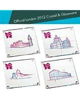 Dartington Crystal London Olympic 2012 Landmark Coasters Set Of 4