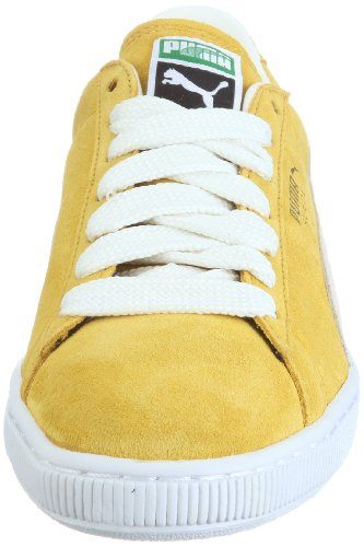Puma Suede Classic + Herren Sneakers Gelb (lemon curry-snow white-wh 25)