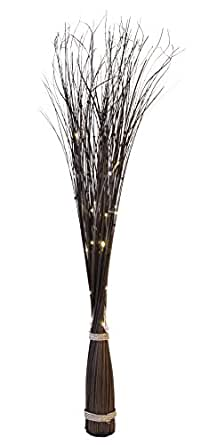 Star rami di salice con luci a led illuminazione for Rami di salice