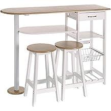 Amazon.es: mesas para cocina modernas