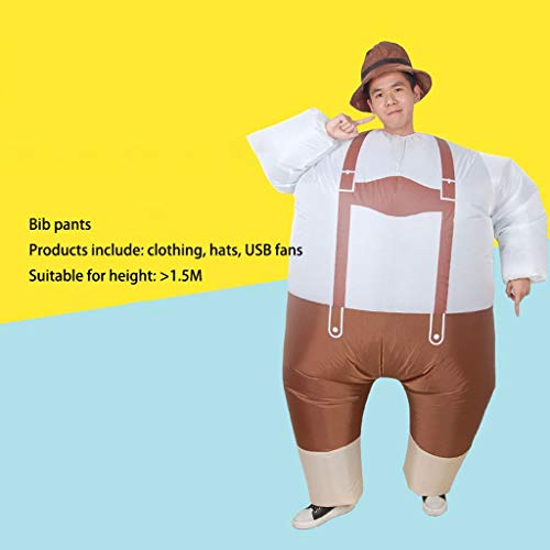 Lustige Kostüm Männer Kreative - NICOLAS Aufblasbare Puppe Kostüm, Jährliche Sitzung Kreative Leistung Requisiten, Lustiger Dicker Mann, Aufblasbare Puppe Sumo Kleidung, Erwachsene Lustige (Farbe : G)