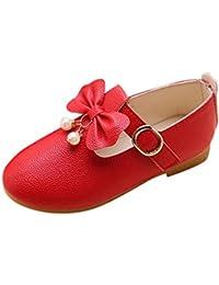908676f2a Zapatos de Cuero para Niñas Otoño Invierno 2018 Moda PAOLIAN Zapatos de  Vestir Princesa Boda Calzado