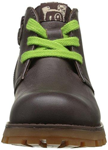 CAMPER Jungen Compas Kids Chukka Boots Braun (Dark Brown 004)