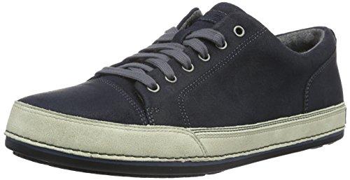 Rockport JETTY POINT LACETOTOE - Sneakers Uomo, Blu (Med Blue SDE), 46.5 EU