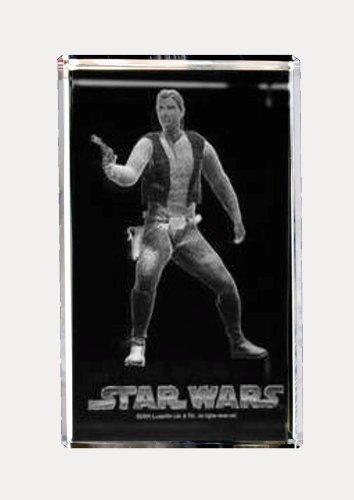 3D Laser Kristall - STAR WARS- Han Solo (Han Solo Laser)
