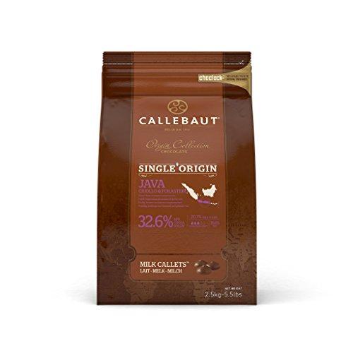 Callebaut Origin, Java 32,6% Milchschokoladenchips 2,5 kg Java Chip