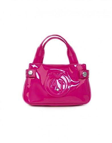 9fae4a576d borsa armani jeans vernice rosa usato Spedito ovunque in Italia Altre foto.  Amazon