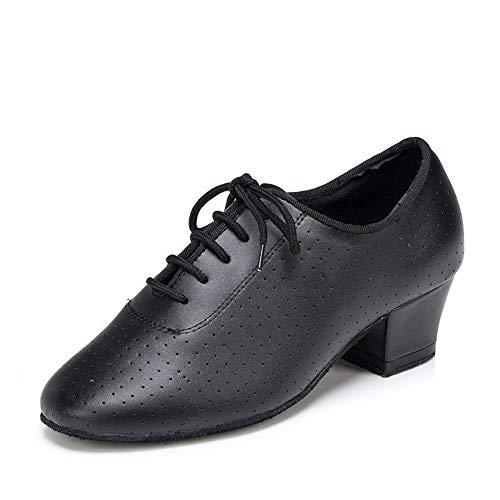Shangyi scarpe da ballo latino scarpe da ballo in pelle da donna moderne scarpe da ballo, scarpe da ballo quadrate, eu39 / uk6.5 / cn40