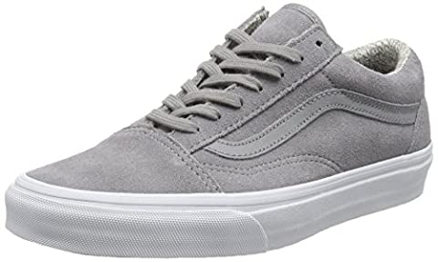 Vans Unisex Adults' Old Skool Low-Top Sneakers, Grey (Suede/Woven Gray/True