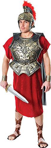 Kostüm Brustplatte - Herren Gladiator Centurion Spartakus Kostüm Römisch Brustplatte mit Cape