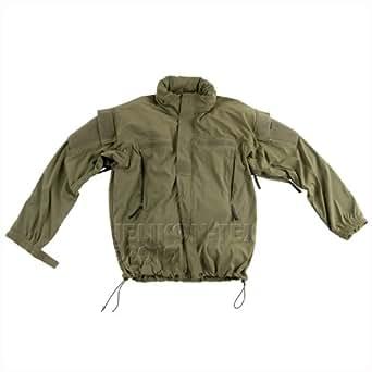 Helikon Army APCU Soft Shell Waterproof Mens Jacket Olive