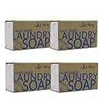 Wild Ideas 100% Natural Hand-Made Laundry Soap Bar 100gmx4