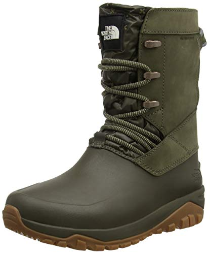 The North Face Damen Yukiona Mid Hohe Stiefel, Grün (Tarmac Green 5tl), 40.5 EU (North Stiefel Face The Damen)