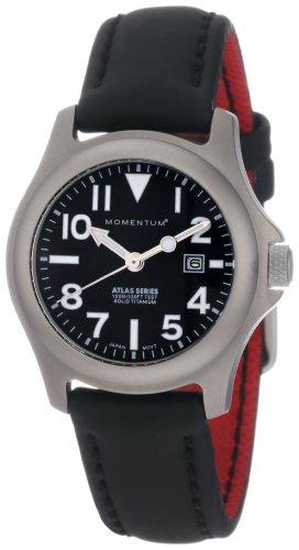 Momentum - 1M-SP01B12B - Montre Femme - Quartz Analogique - Bracelet différents matériaux Noir