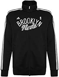 adidas NBA brooklyn nets basketball track top
