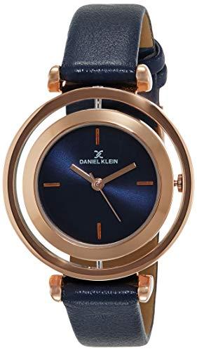 Daniel Klein Analog Blue Dial Women's Watch-DK11430-3