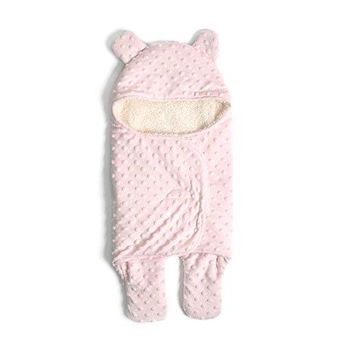 Decdeal Baby Einschlagdecke Pucksack Baby Schlafsack mit Separate-Bein Design