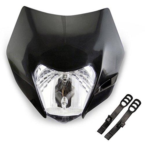 LICHTMASKE VERKLEIDUNG LAMPENMASKE HEADLIGHT KTM EXC 125 200 250 300 450 500 530