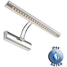 Dailyart 7w 36LEDs blanco cálido LED Espejo Luz de pared apliques de baño Espejo Lámpara