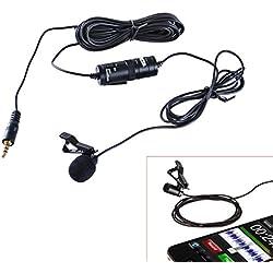 Boya - Micrófono de Solapa by-M1 para Cámaras DSLR, Smartphones, Cámaras de Vídeo y grabadoras de Audio - Color Negro