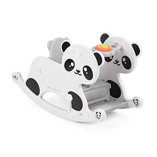 Baby Vivo Schaukelpferd Schaukelpanda Kleinkinder Schaukelstuhl Schaukelspielzeug Jungen und Mädchen Sound Babys Schaukel Spielzeug mit Musikelement